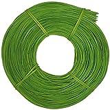 CSB-Center Peddigrohr intensiv gefärbt 3,0mm 500g Grün